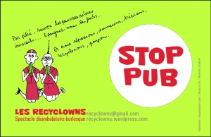 stop pub recyclowns